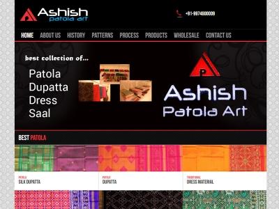 Ashish Patola Art
